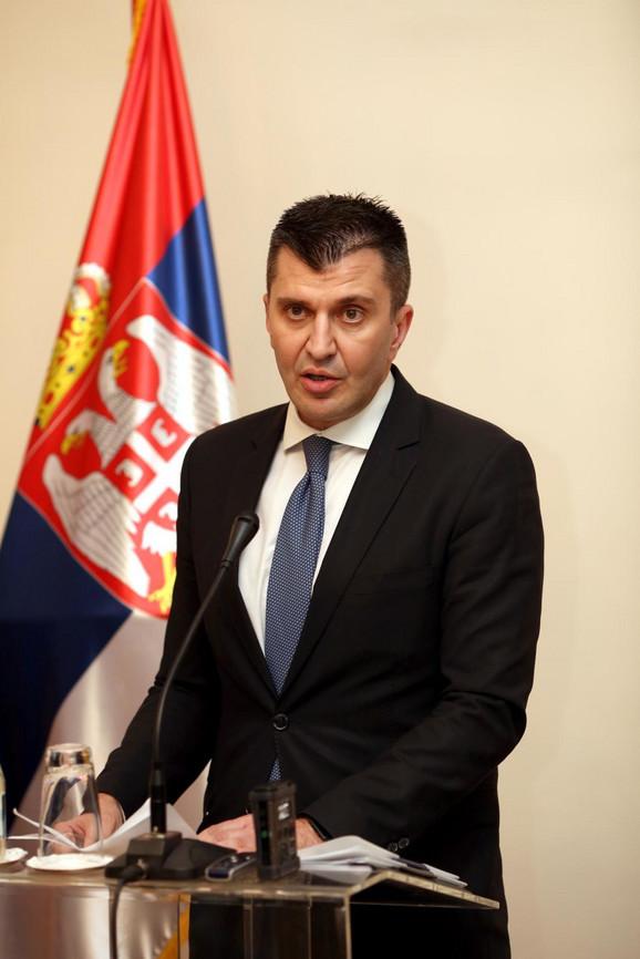 Zoran Đorđević, ministar