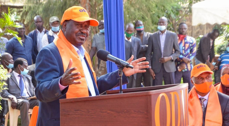 Raila unleashes new BBI slogan after meeting with ODM officials