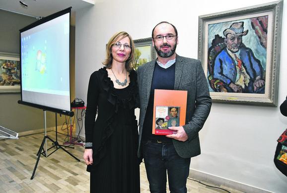Milana Kvas i Milojko Božović