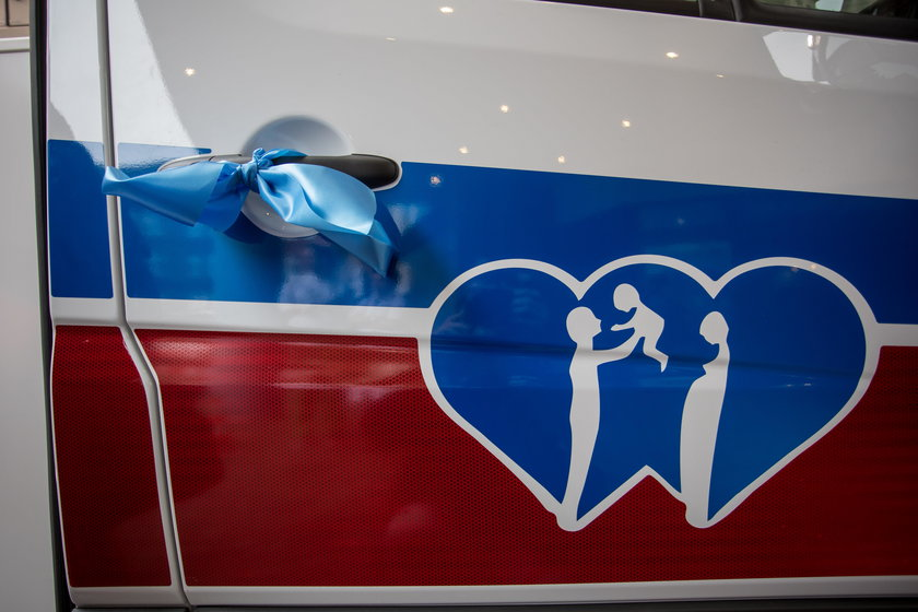 Nowa karetka dla szpitala przy Polnej