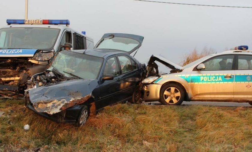 Wypadek w Tarnobrzegu