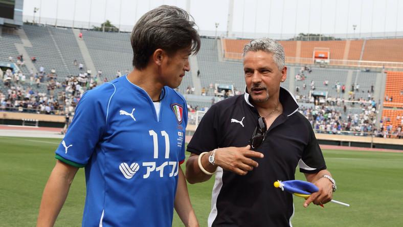 Kazuyoshi Miura z Roberto Baggio