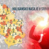 VELIKO ISTRAŽIVANJE Ovo je TOP 5 HULIGANSKIH GRADOVA u Srbiji