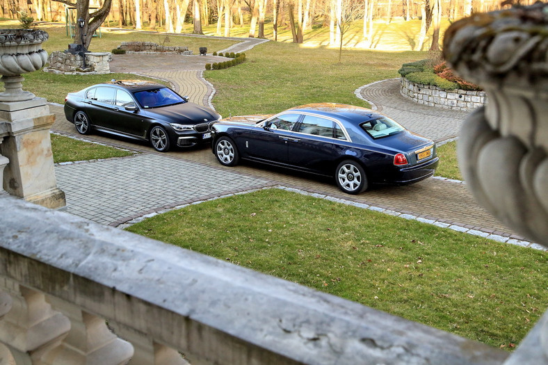 Rolls-Royce Ghost vs BMW M760
