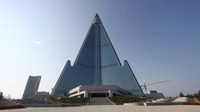 Otwarcie hotelu Ryugyong w Pjongjang odłożone