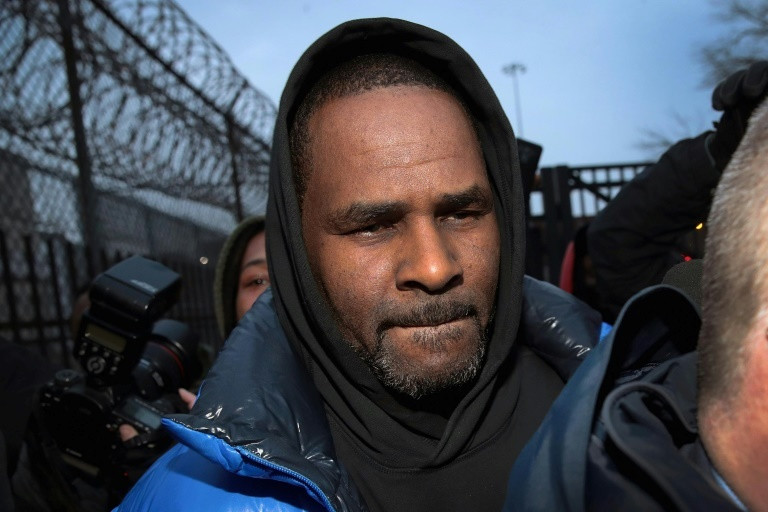 R. Kelly leaves Cook County jail in Chicago last month after being charged with aggravated criminal sexual abuse