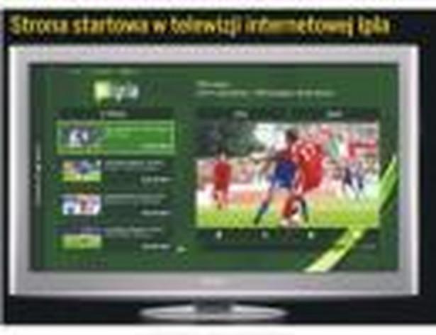Strona startowa w telewizji internetowej Ilpa