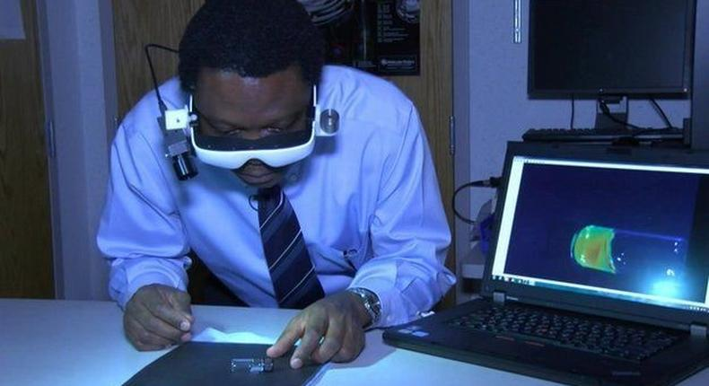 Meet Dr Samuel Achilefu, the Nigerian Radiologist who invented high-tech infrared goggles to enable surgeons to see cancer cells during surgery (Everythingradiography)