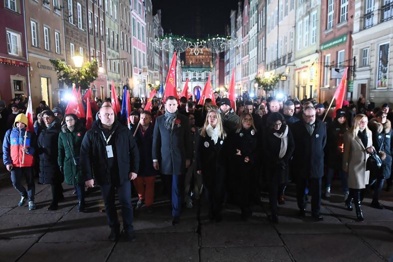 Aleksandra Dulkiewicz, Magdalena Adamowicz, Piotr Adamowicz