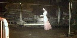 Zjawa w sukni ślubnej przeraziła ochronę placu budowy