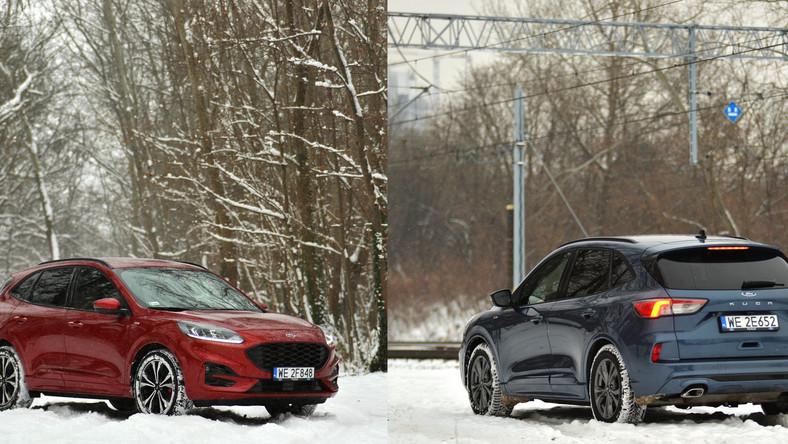 Ford Kuga 2.0 EcoBlue Hybrid/150 KM vs Kuga 1.5 EcoBoost/150 KM
