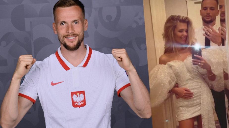 Tomasz Kędziora i jego ukochana Wiktoria