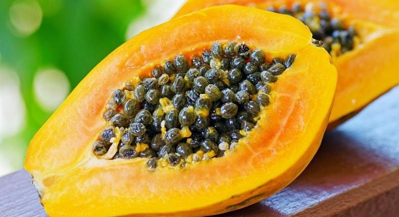 Papaya seeds benefits(youtube)