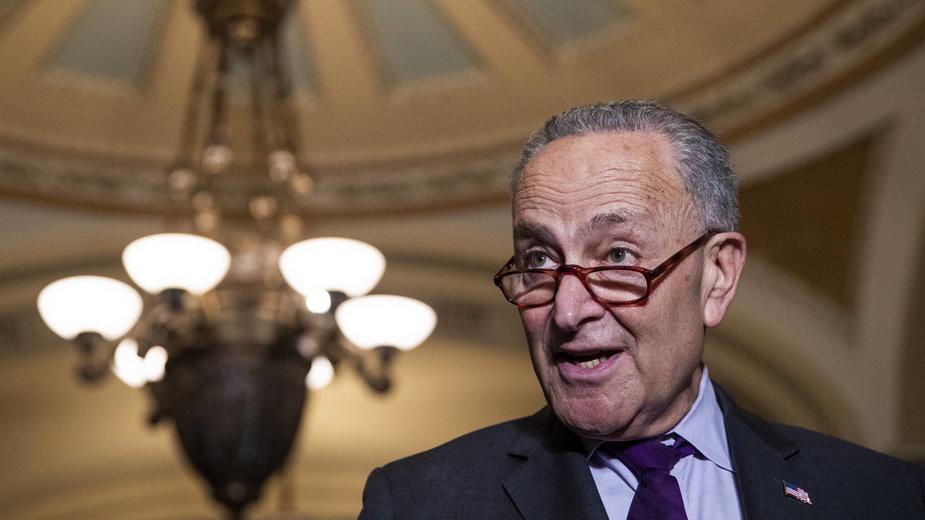 Lider Demokratów w Senacie Chuck Schumer