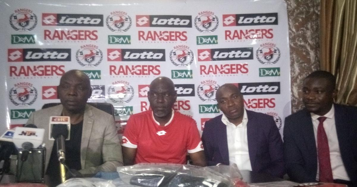 NPFL side Enugu Rangers sign 5-year deal with Italian sportswear brand Lotto - Pulse Nigeria