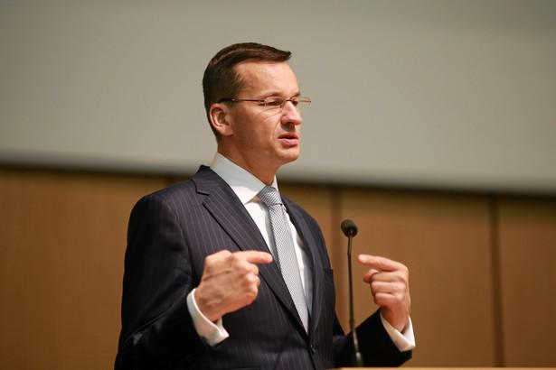 Mateusz Morawiecki chciałby sprawować nad spółkami Skarbu Państwa bezpośredni nadzór