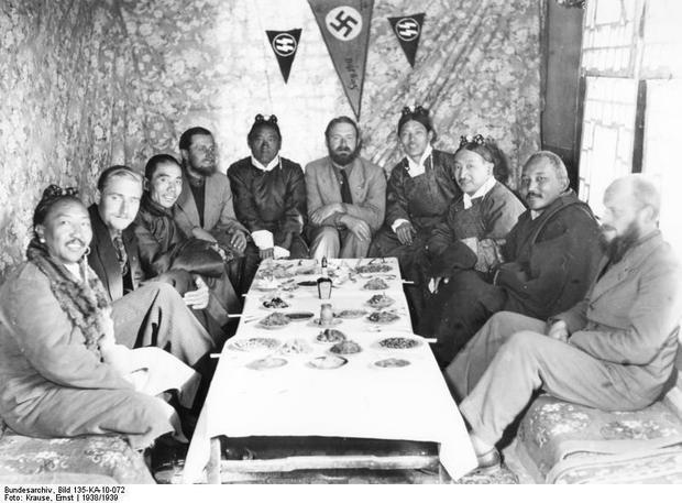 Spotkanie z tybetańskimi dygnitarzami