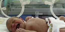 Zostawienie dziecka w szpitalu