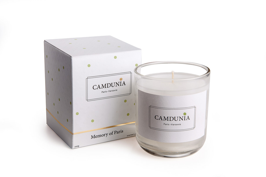 CAMDUNIA CANDLES - IN BOX - LD- PARIS