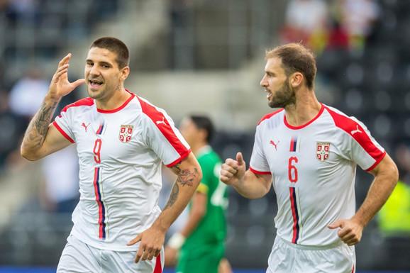 Aleksandar Mitrović i Branislav Ivanović