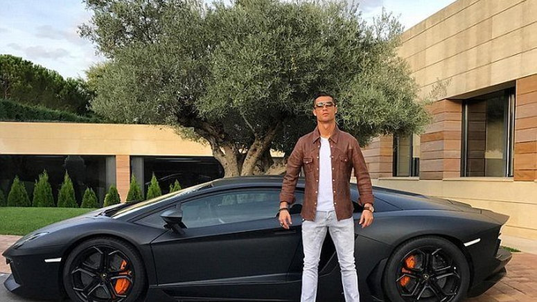 Cristiano Ronaldo Real Madrid Star Has A Crazy Car Collection