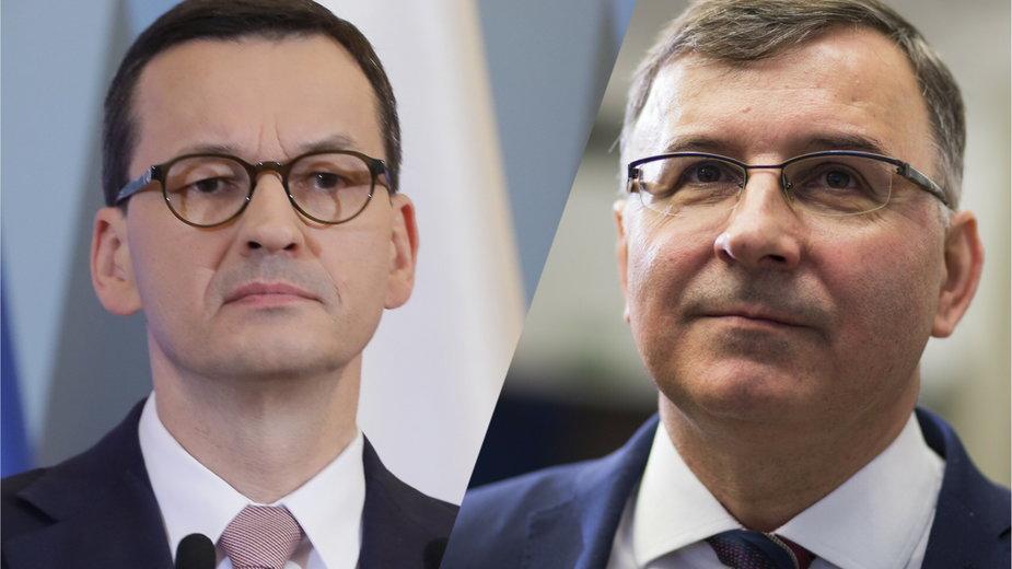 Mateusz Morawiecki i Zbigniew Jagiełło
