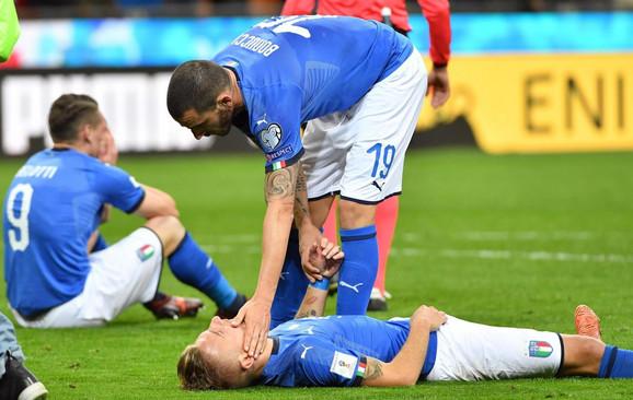 Fudbalska reprezentacija Italije u šoku posle eliminacije u baražu za Mundijal
