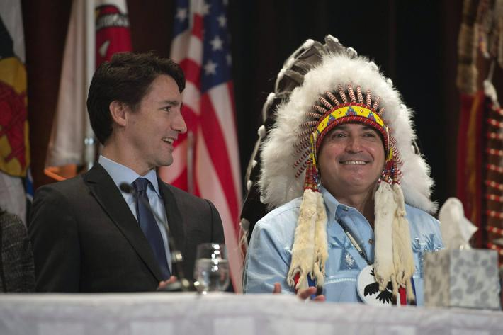 Justin Trudeau Perry Bellegarde