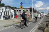 privremeni znak biciklisti Beton Hala