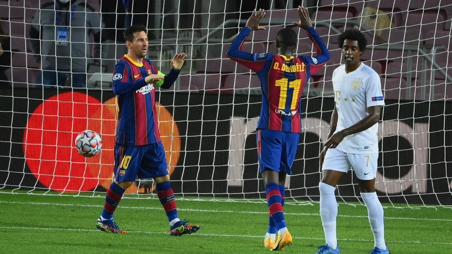 Messi i Dembélé
