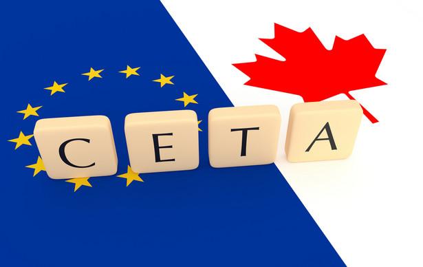CETA jest umową handlową nowej generacji, obejmuje również sektor usług