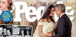 Wiemy już, jak wyglądała suknia ślubna Amal!