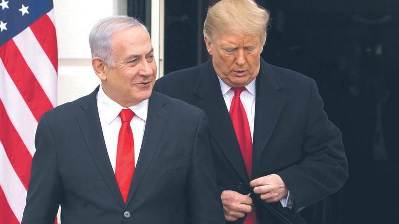 Benjamin Netanjahu i Donald Trump