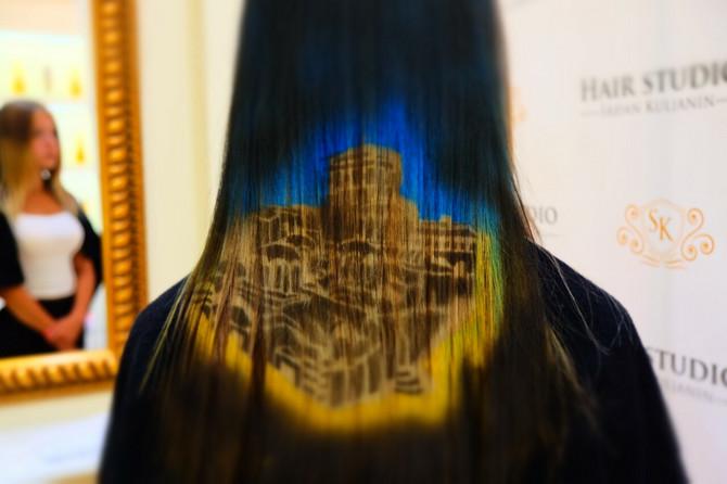 Slika Hilandara na kosi - najzahtevniji rad ovog frizera