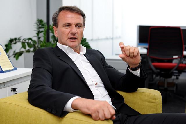 Ostoja Mijailović, predsednik KK Partizan