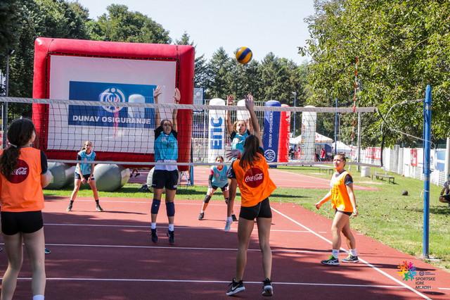 Detalj sa Sportkih igra mladih
