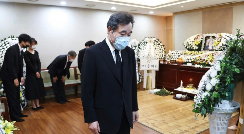 S. Korea's Moon under fire over sex offender's family funeral