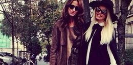 Kate Rozz i Doda na jesiennym spacerze