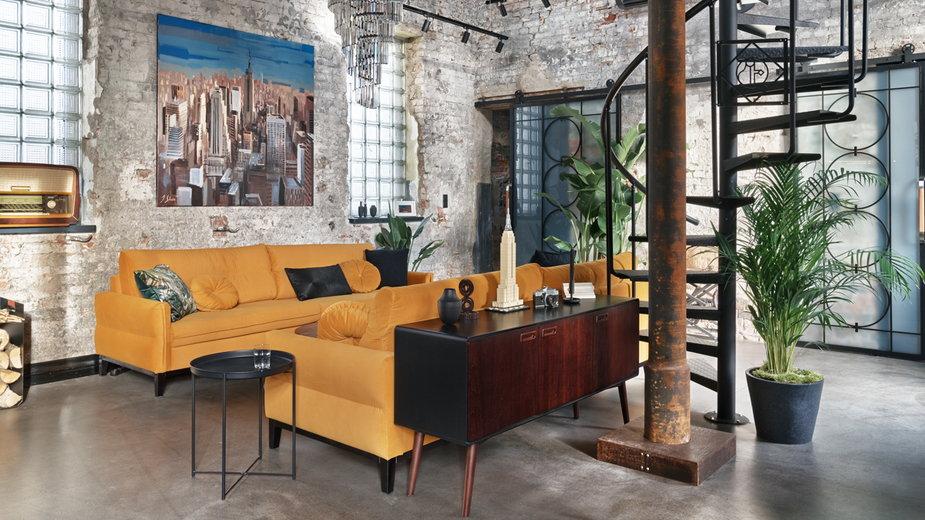 W industrialnym klimacie, czyli mieszkanie w stylu loft od pracowni Sikora Wnętrza!