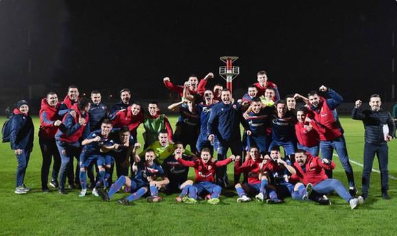 Omladinci FK Crvena zvezda proslavljaju ulazak u nokaut fazu Lige šampiona
