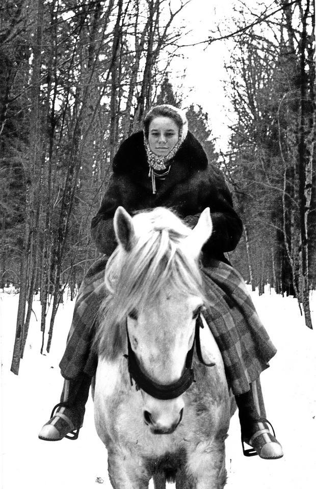 Swietłana Bogdańska, wnuczka Filimona Waszkiewicza