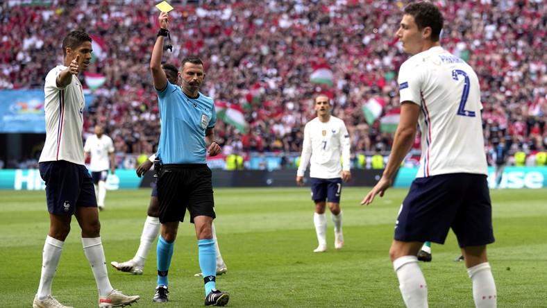 Michael Oliver sędziował na Euro mecz Węgrów z Francuzami