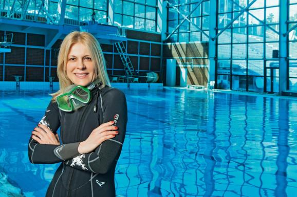Božana Ostojić, predsednica Saveza Organizacija Podvodnih Aktivnosti Republike Srbije
