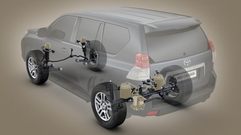 Zawieszenie pneumatyczne – Toyota Land Cruiser