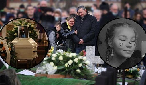 Wzruszające sceny na pogrzebie, tłumy pożegnały 13-letnią Patrycję.  Słowa jej bliskich poruszają do głębi