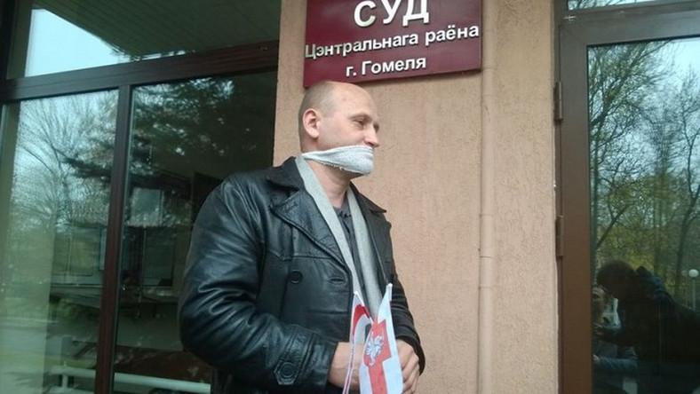 Kanstancin Żukouski, niezależny białoruski dziennikarz z Homla na wschodzie Białorusi (fot. Belsat.eu)
