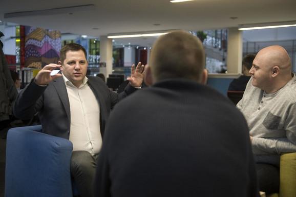 Borovčanin u razgovoru sa našim novinarima i urednicima
