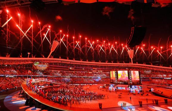 Evropske igre - detalj sa ceremonije otvaranja