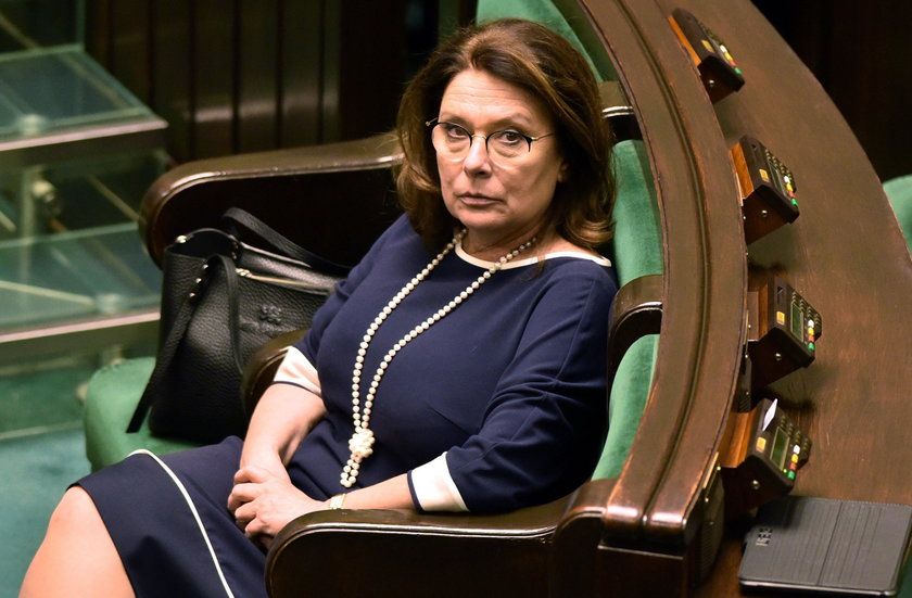 Posłanka lewicy o Kidawie-Błońskiej: Łajza!