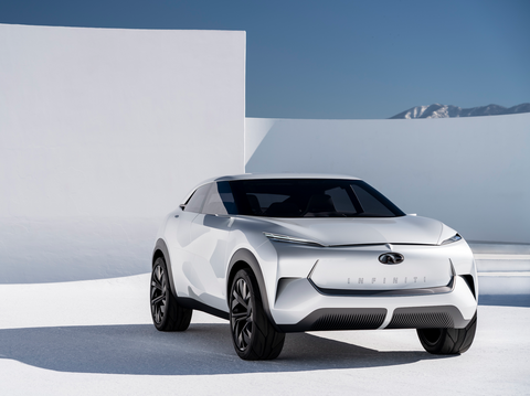 Infiniti QX Inspiration Electric Concept SUV